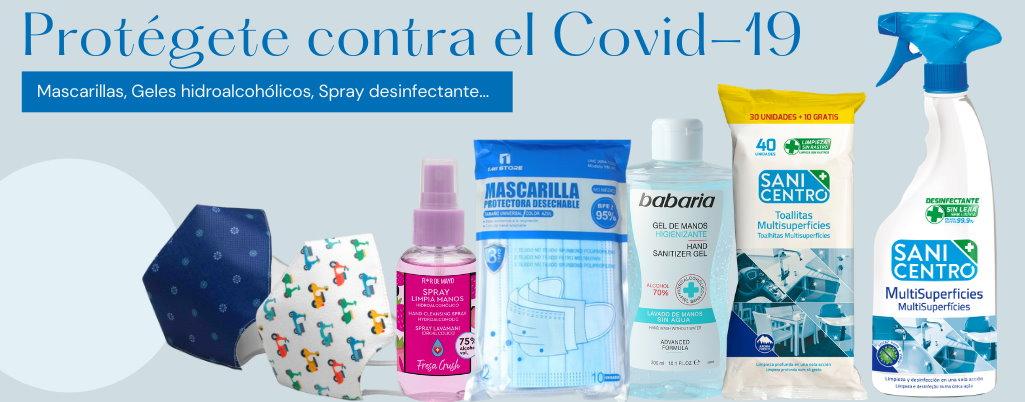 Productos para la prevención del Covid-19