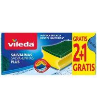 Salvauñas Antibacterias 2+1 | 3 uds