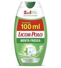 2 en 1 Dentífrico en Gel Menta Fresca | 100 ml