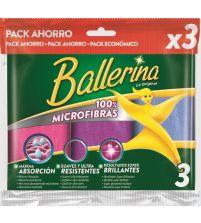 Bayeta Microfibra    3 uds