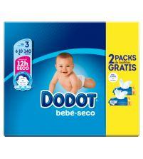 Bebé Seco Talla 3 + Regalo 2 Packs Toallitas