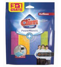 Power XL 100% Microfibra Antibacterias | 4 uds