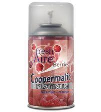 Coopermatic Platinum Recambio Ambientador Red Berries | 250 ml
