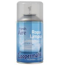 Coopermatic Platinum Recambio Ambientador Ropa Limpia | 250 ml