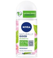 Naturally Good Bio Green Tea Desodorante Roll On   50 ml