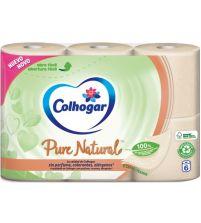 Pure Natural Papel Higiénico   6 uds