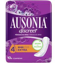 Discreet Extra para Pérdidas de Orina    10 uds