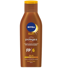 Nivea Sun Leche Solar Zanahoria SPF 6 | 200 ml