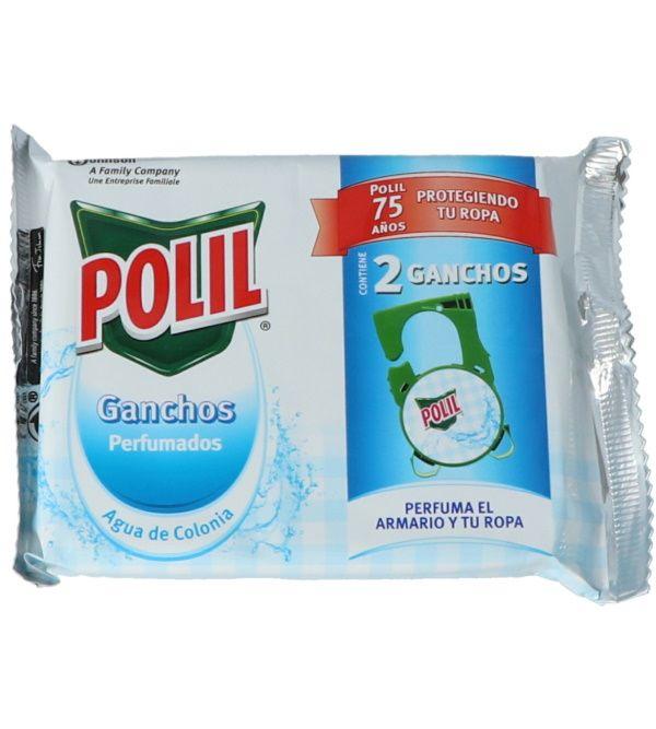 Antipolillas Perfumador Agua de Colonia 2 ganchos