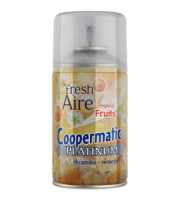 Coopermatic Platinum Recambio Ambientador Tropical Fruits