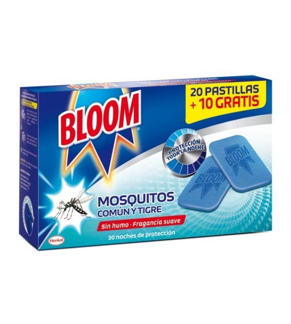 Recambio Electrico Pastillas Mosquito Común y Tigre   30 uds