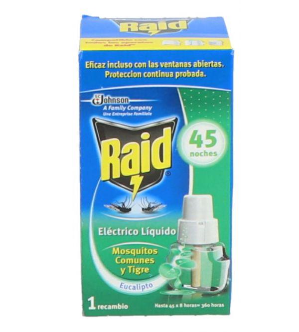 Eléctrico Líquido Anti-Mosquitos comunes y Tigre 1 recambio