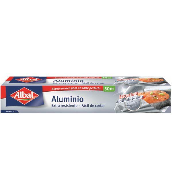 Aluminio Extra Resistente Fácil de Cortar 50 m   50 m.