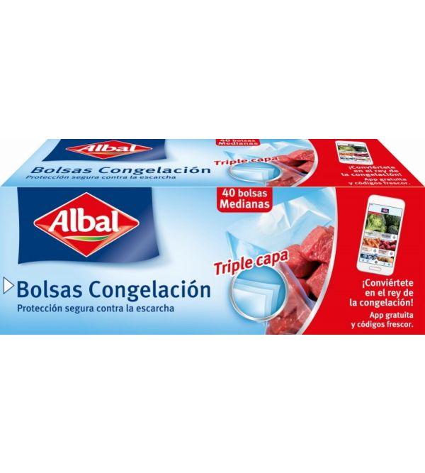 Bolsas Congelación Medianas Triple Capa   40 uds