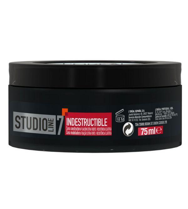 Studio Line Indestructible Cera Constructora Extra Fuerte | 150 ml