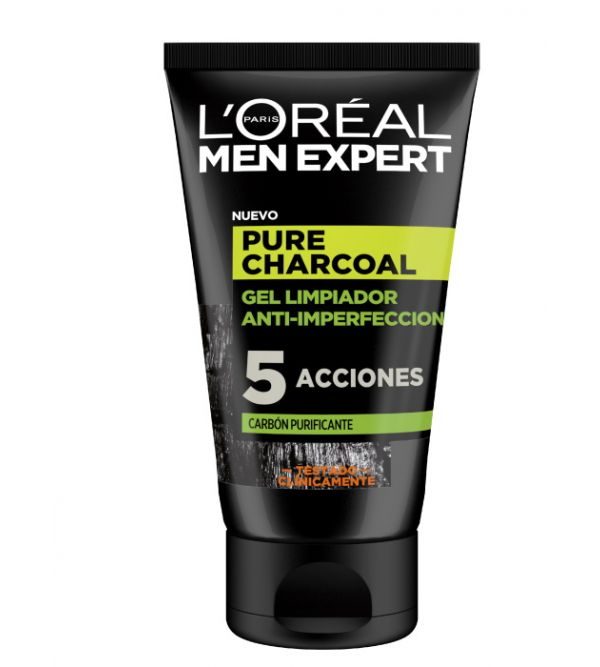 Pure Charcoal Gel Limpiador 100 ml