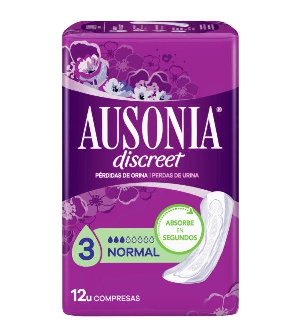 Discreet Normal Pérdidas de Orina 12 uds