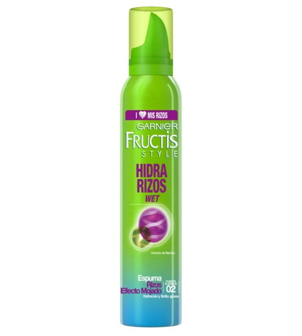 Espuma Hidra Rizos Wet 02 Extra Fuerte   200 ml