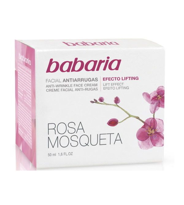 Rosa Mosqueta Crema Anti-Arrugas Facial Efecto Lifting | 50 ml