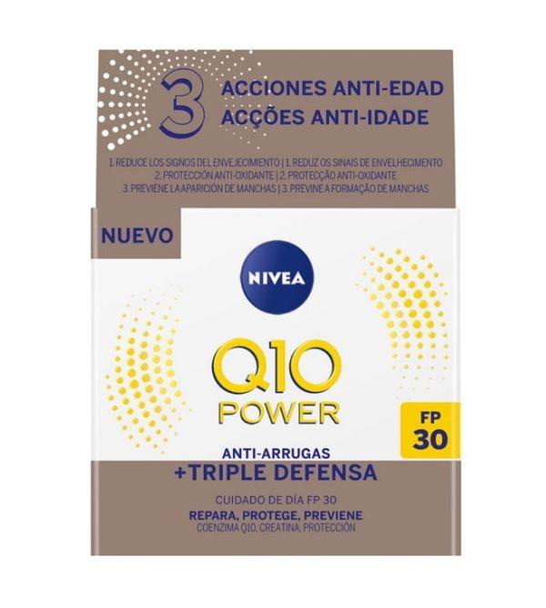 Q10 Power Antiarrugas Cuidado De Día Triple Acción | 50 ml