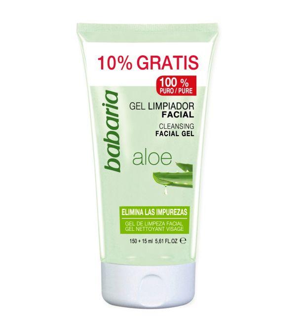 Gel Limpiador Facial Aloe 165 ml