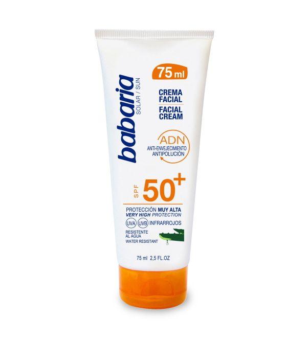 Crema Facial Aloe SPF 50+ | 75 ml
