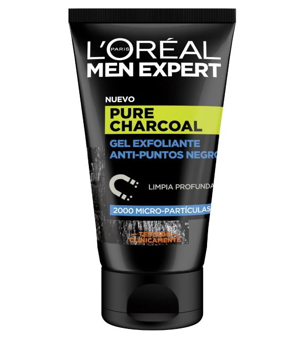 Pure Charcoal Gel Exfoliante 100 ml