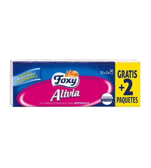 Pañuelos Alivia 10 + 2 Paquetes