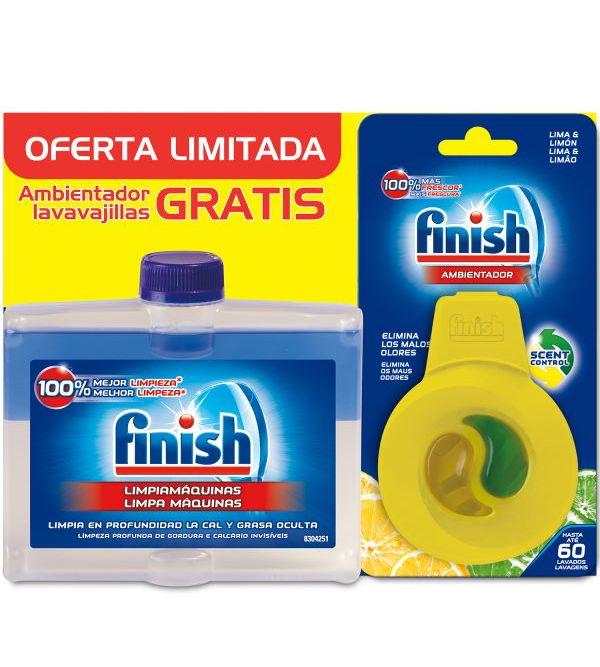 Limpiamáquinas Pastillas 250 ml + Ambientador Limón