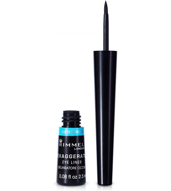 Exaggerate Liquid Eyeliner Waterproof 003 Black