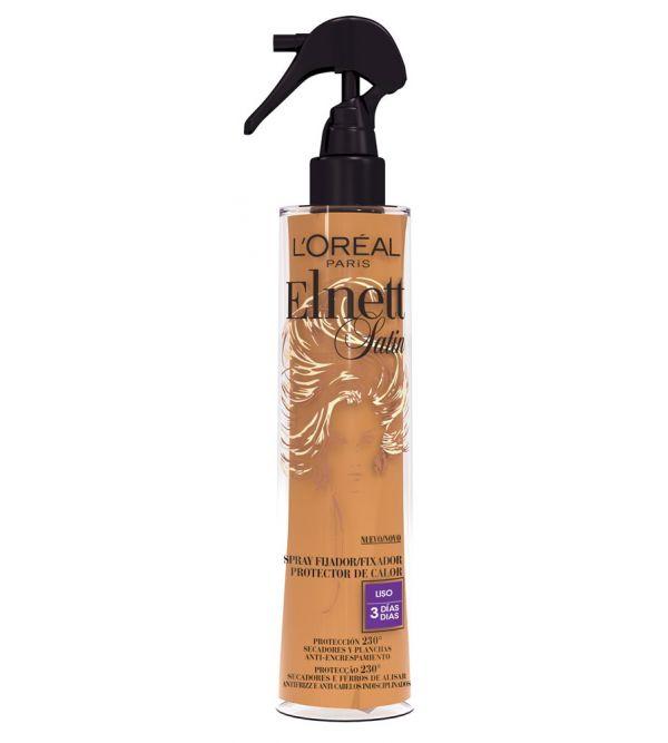 Satin Spray Fijador Protector del Calor Liso 170 ml