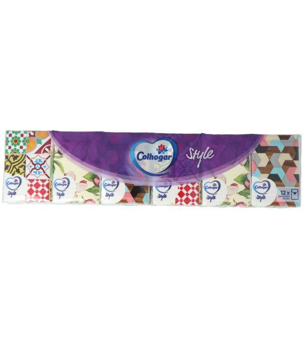 12 Paquetes de 8 Pañuelos   12 uds