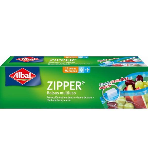 Zipper Bolsa Multiusos Medianas | 12 uds