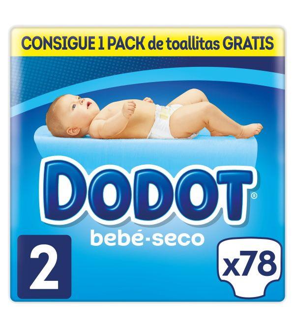 Bebé Seco Talla 2   78 uds