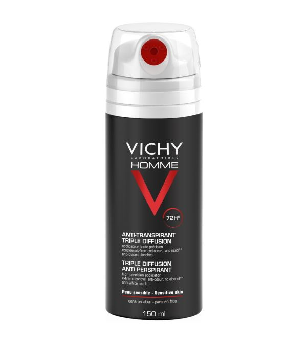Vichy Homme Desodorante Spray 72 h 150 ml