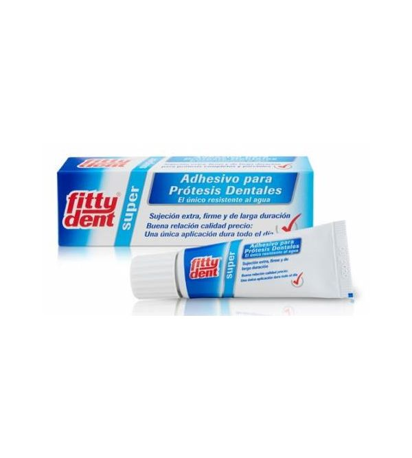 Fittydent Super Adhesivo Prótesis Dentales   20 ml