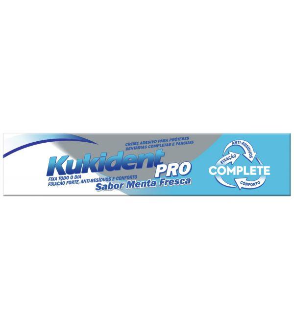 Pro Complete Crema Adhesiva Dentaduras Refrescante 47 ml