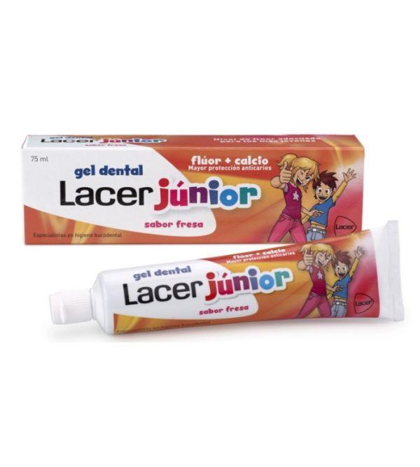 Lacer Júnior Gel Dental Sabor Fresa | 75 ml