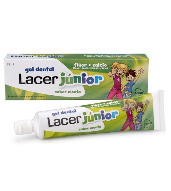 Lacer Júnior Gel Dental Sabor Menta 75ml