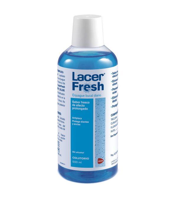 LacerFresh Colutorio Sabor Fresco   500 ml