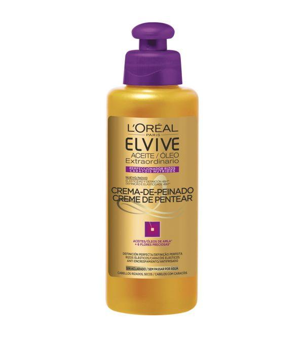 Aceite Extraordinario Crema de Peinado Rizos | 200 ml