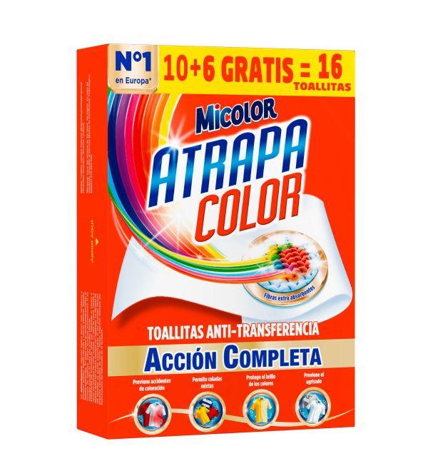 Toallitas Atrapa Color 10+6 ud