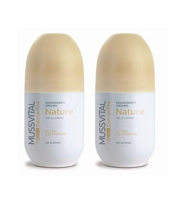Pack Desodorante Nature Organic 2x75ml