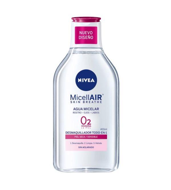 MicellAIR Agua Micelar Piel Seca Y Sensible | 400 ml