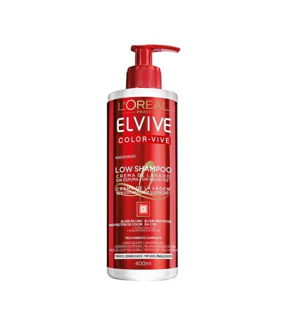 Color-Vive Low Shampoo Sin Sulfatos para Pelo Teñido   400 ml