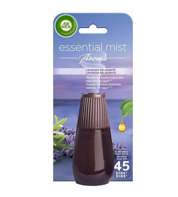 Essential Mist Aroma Recambio Ambientador Lavanda Relajante | 20 ml