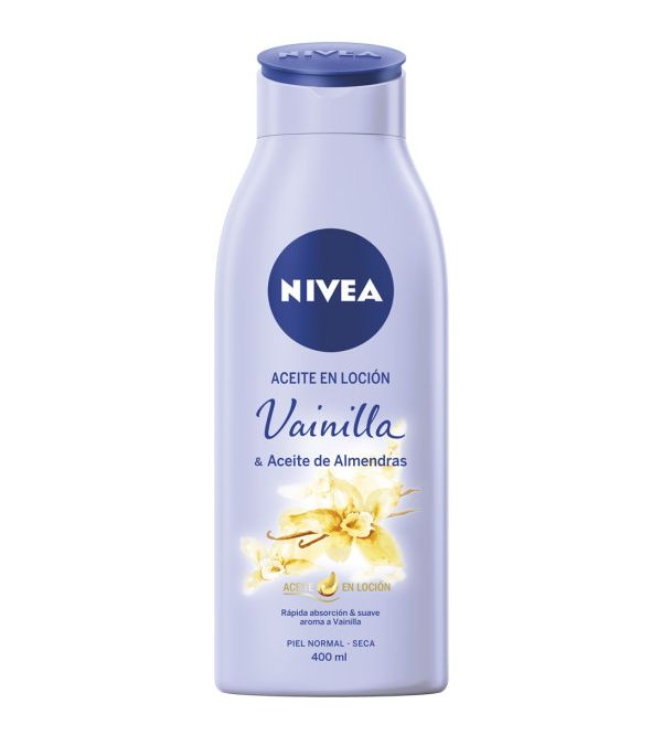 Aceite En Loción Vainilla y Aceite de Almendras | 400 ml