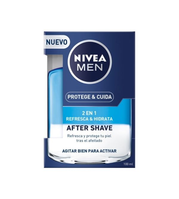 Protege & Cuida After Shave 2 En 1 Refresca & Hidrata | 100 ml