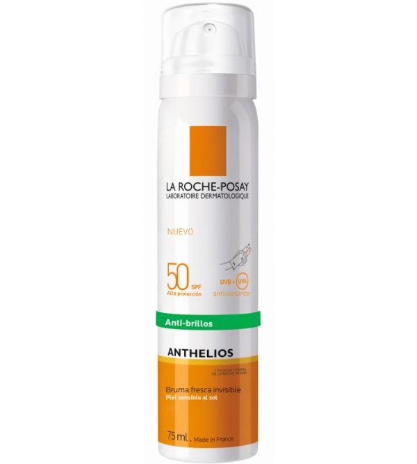 Anthelios SPF 50 Bruma Facial Invisible Anti-Brillos | 75 ml