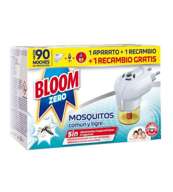 Zero Eléctrico Contra Mosquitos Común y Tigre + 2 Recambios